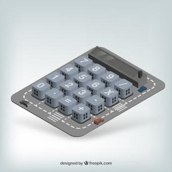 Boutons de la calculatrice