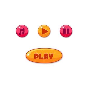 Boutons d'interface utilisateur