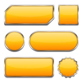 Boutons jaunes