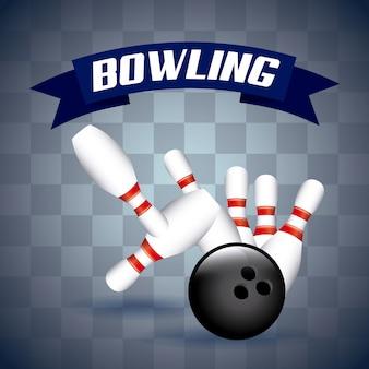 Bowling tombant