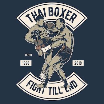 Boxeur thaï