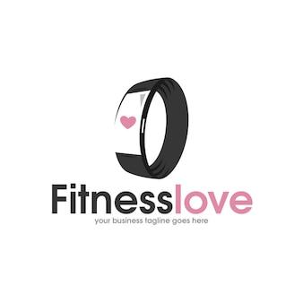 Bracelet fitness logo