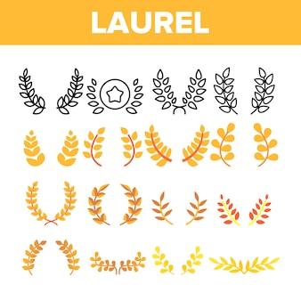 Branches de laurier