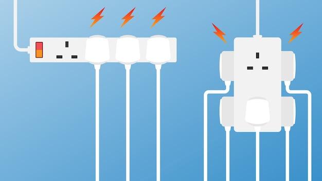 Branchez la prise de courant à pleine puissance
