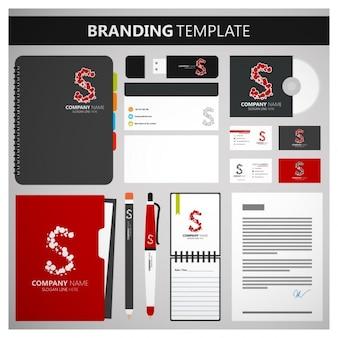 Branding set d'entreprise