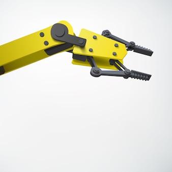 Bras de robot 3d