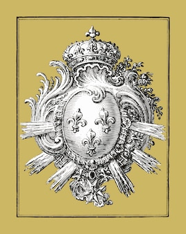 Bras avec trois lys (1785 - 1833) de jean bernard