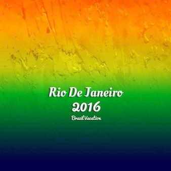 Brésil couleurs de fond