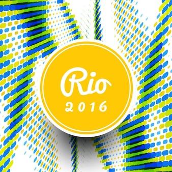 Brésil couleurs thème de fond moderne