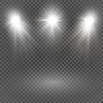 Brillant ensemble étoile rayon