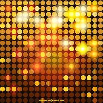Brillant mosaïque dorée fond