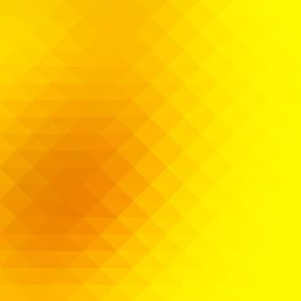 Brillantes rangées d'or jaune de fond de triangles, carré