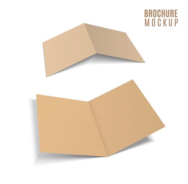 Brochure 3d de l'artisanat en papier