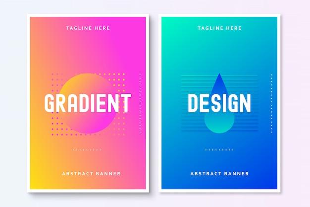 Brochure abstraite moderne