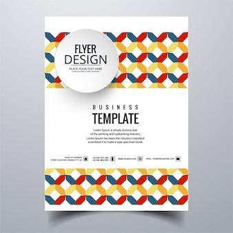 Brochure d'affaires colorful