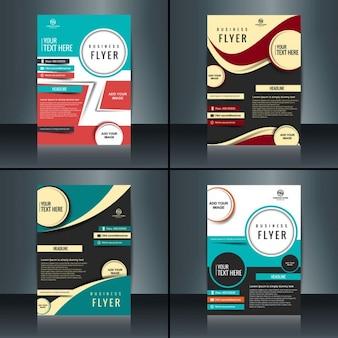 Brochure d'affaires ensemble