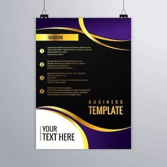Brochure d'affaires moderne