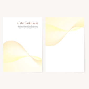 Brochure d'affaires vectorielle, modèle de prospectus