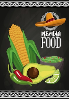 Brochure alimentaire mexicaine