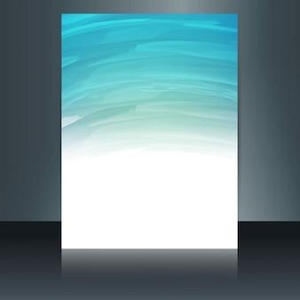 Brochure aquarelle