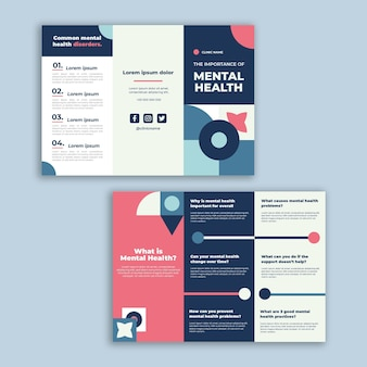 Brochure de la clinique de santé mentale géométrique