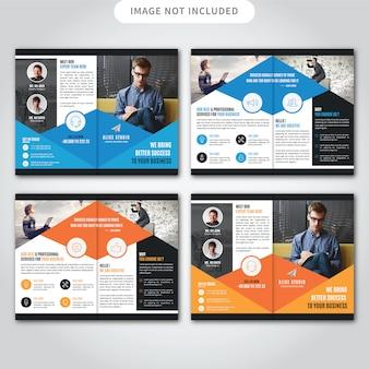 Brochure corporative double