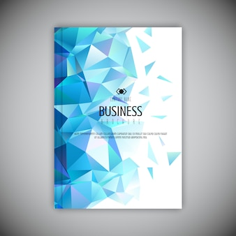 Brochure d'entreprise Low poly