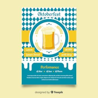 Brochure de l'Oktoberfest