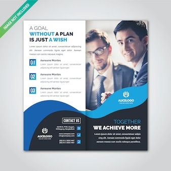 Brochure dl bi fold