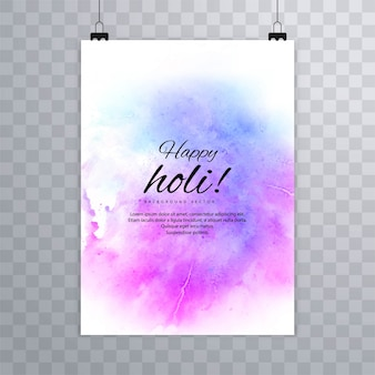 Brochure du festival happy holi