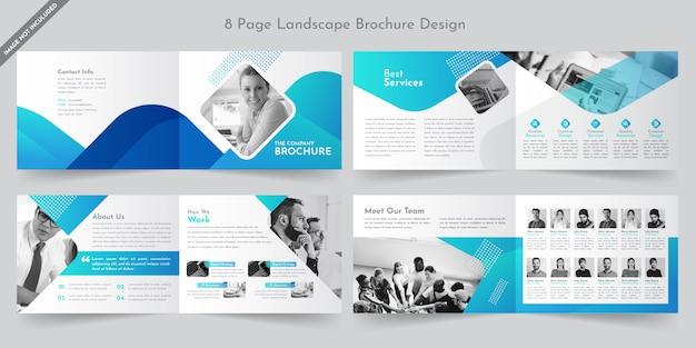 Brochure de l'entreprise d'aménagement paysager