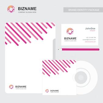 Brochure d'entreprise avec un design élégant