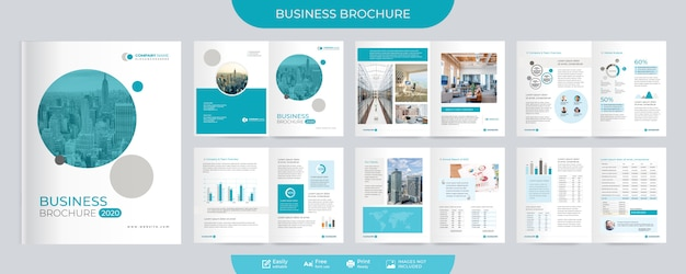 Brochure d'entreprise et modèle de proposition