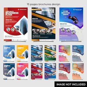 Brochure d'entreprise pour les entreprises