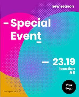 Brochure d'événement spécial