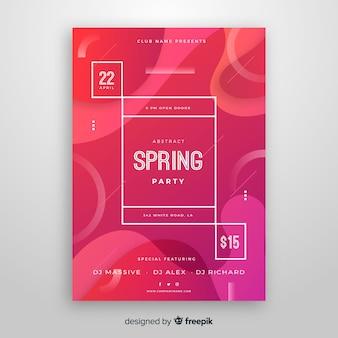 Brochure fête de printemps
