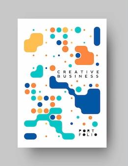 Brochure, flyer, modèle d'affiche de page de couverture de magazine, illustration.
