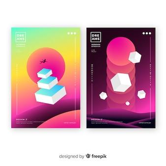 Brochure formes flottantes