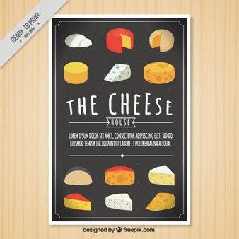 Brochure de fromage