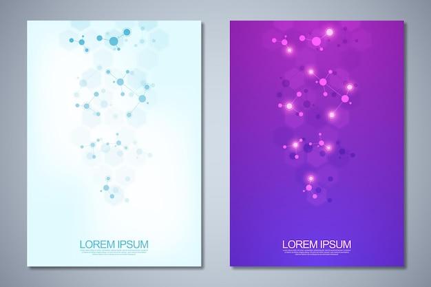 Brochure de modèles ou conception de flyer de mise en page de livre de couverture