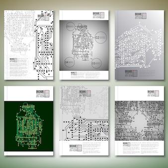 Brochure ou modèles de flyer