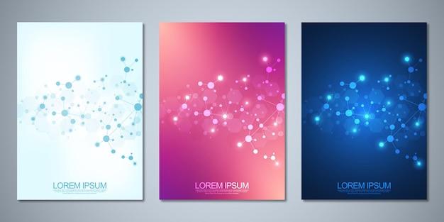 Brochure de modèles ou livre de couverture