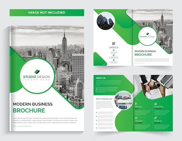 Brochure pliante d'entreprise
