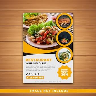 Brochure restaurant