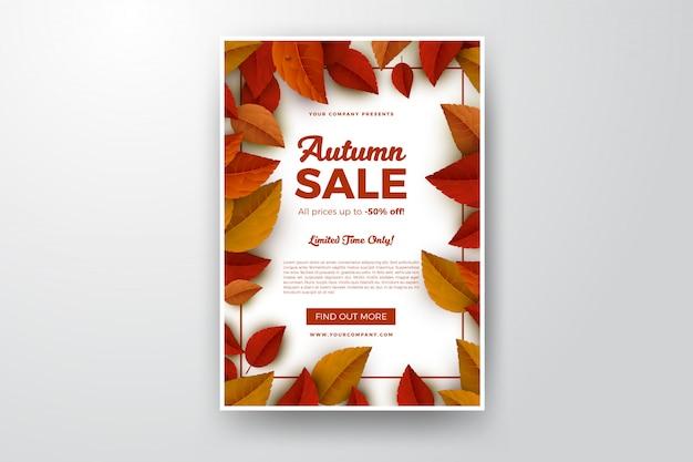 Brochure de vente d'automne