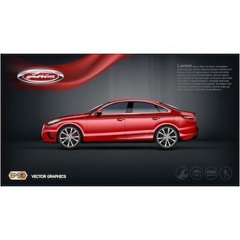 Brochure de voitures modèle