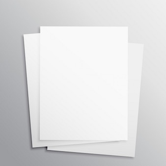 Brochures d'entreprise, maquette