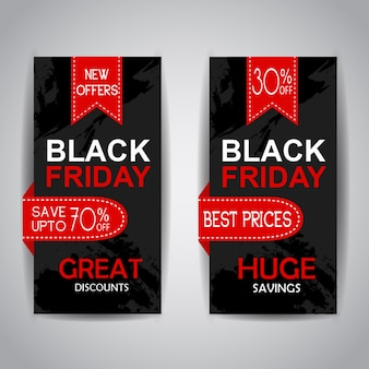 Brochures de vente du vendredi noir