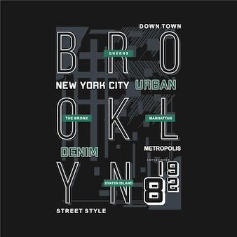 Brooklyn, nyc, style de rue