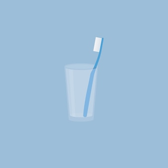 Brosse à dents dans une tasse